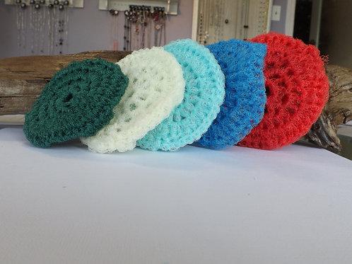 Crocheted kitchen scrubbie
