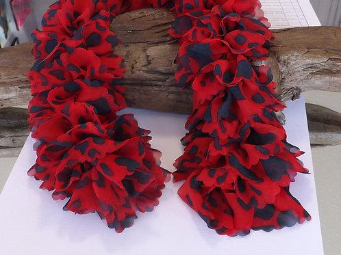 Sassy fabric scarf