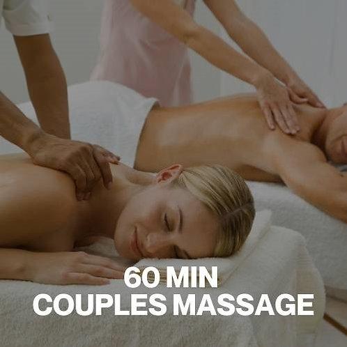 Gift Voucher - 60 Minute Couples Massage
