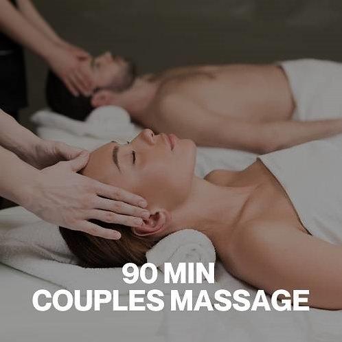 Gift Voucher - 90 Minute Couples Massage