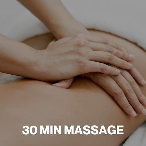Gift Voucher - 30 Minute Massage