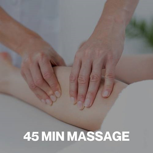 Gift Voucher - 45 Minute Massage