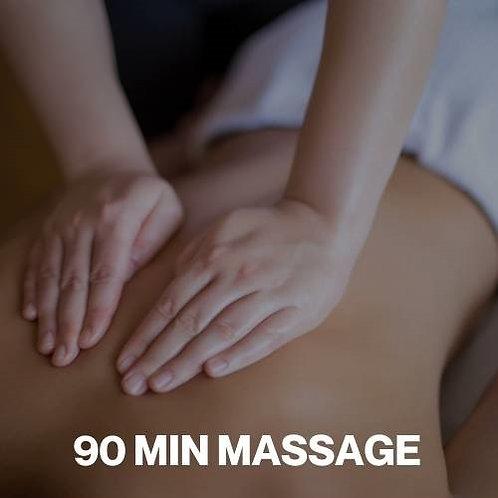 Gift Voucher - 90 Minute Massage