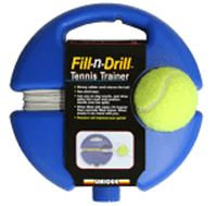Fill-n-Drill -Tennis Trainer rebound baseboard
