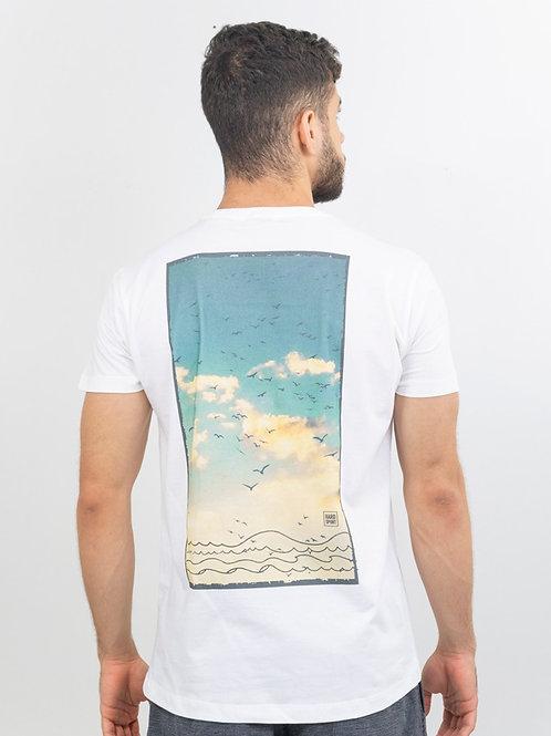 Camiseta Sky Branca