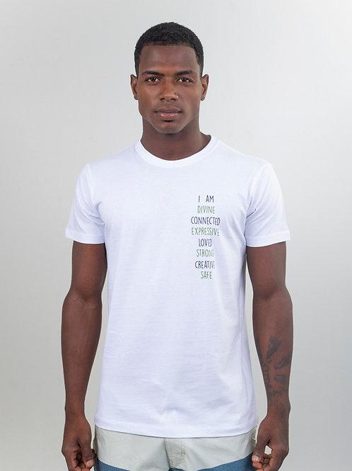 Camiseta CONNECTED Branca