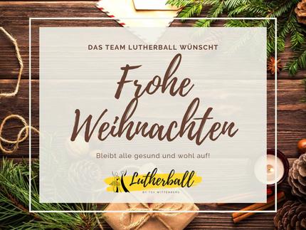 Herzliche Weihnachtsgrüße & Vorfreude auf das nächste Jahr