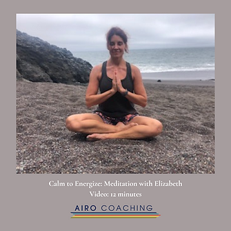 Calm to Energize with Elizabeth A guided beach visualization and meditation restore and re