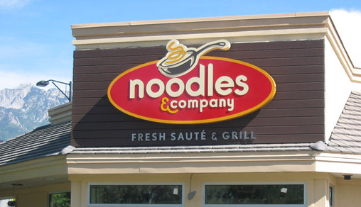 Noodles Channel Letter