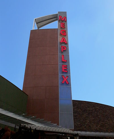 theater tower sign