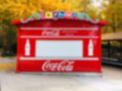 Custom drink stand