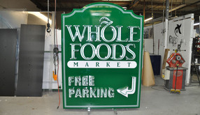 Whole Foods Neon Sign Build