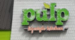 Pulp Kitchen Channel Letter