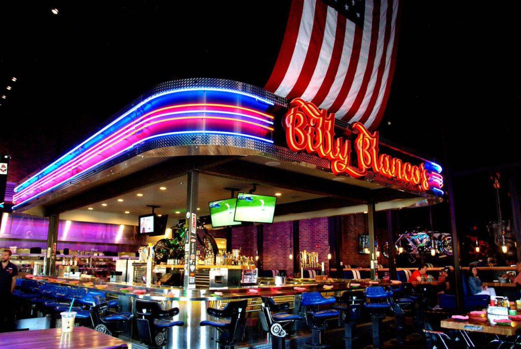 Billy Blancos Neon Sign
