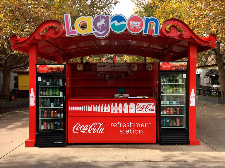 Specialty Coke Stand