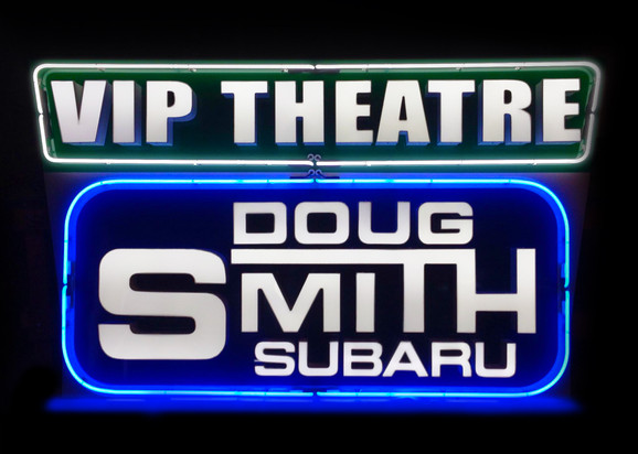 Neon Doug Smith VIP Neon Sign