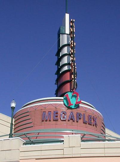 Big Movie Theater Sign