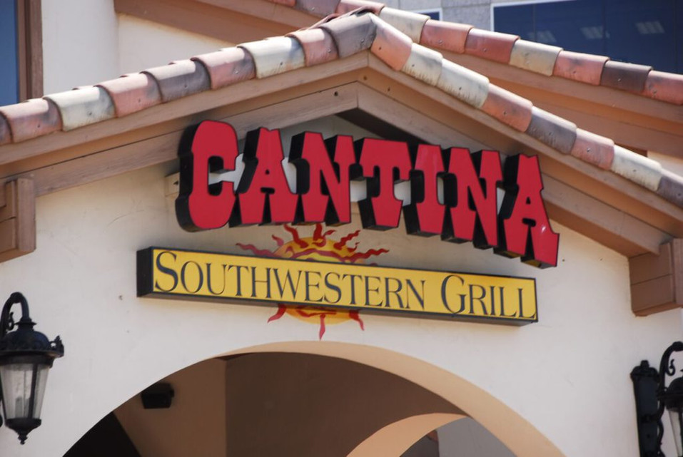Cantina Channel Letter
