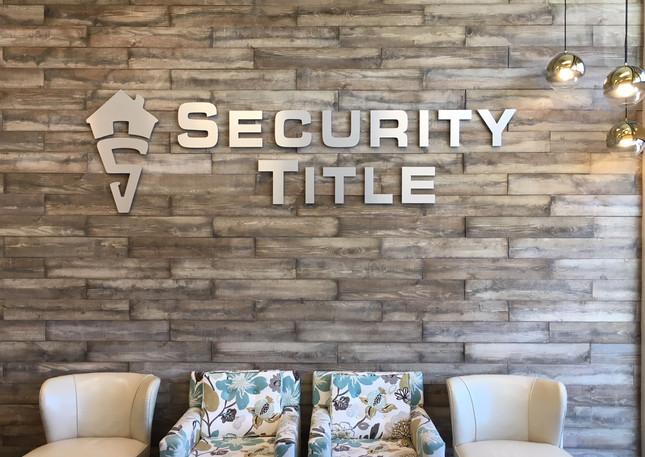 Security Title Interior
