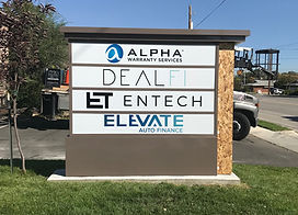 tenant monument sign
