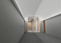 re-look hall di residence a Milano