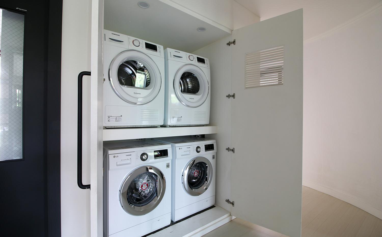 하품하우스 강남점 세탁실