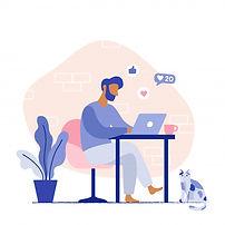 man-sitting-chair-working-laptop-freelan
