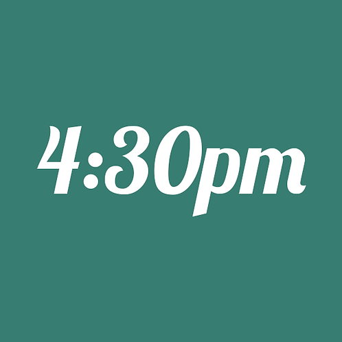 4:30pm Mini Session  (8/24 Outdoor)