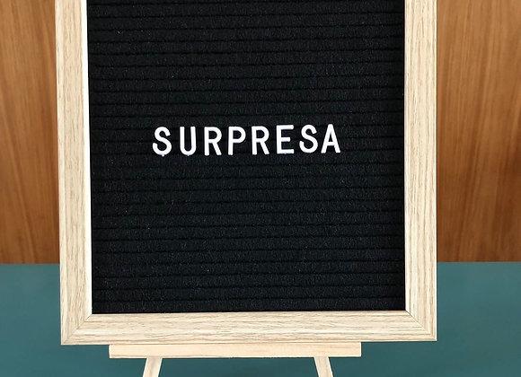Retro letter board