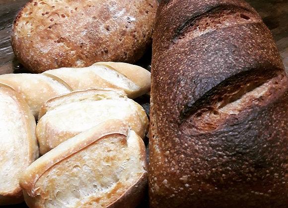 Rústico pães artesanais