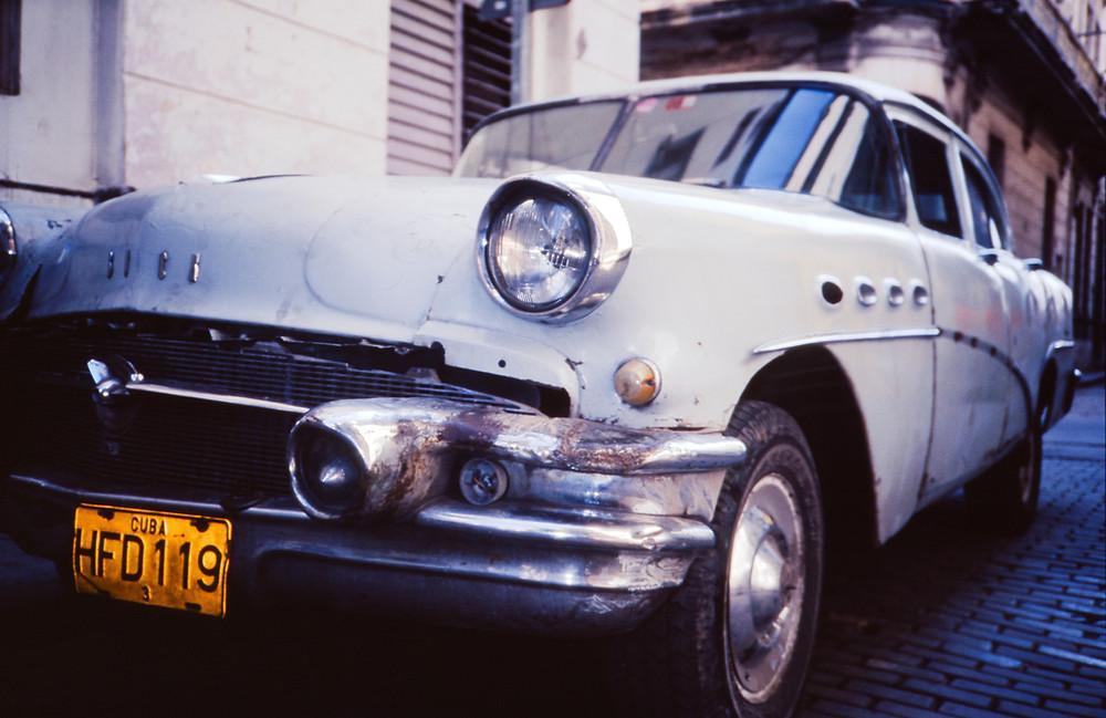 Vintage Classic Car, Havana, Cuba