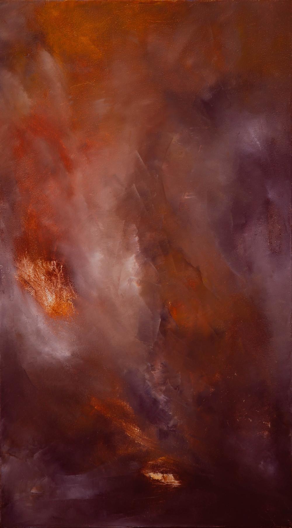 Surviving Loving Environment, Oil on Canvas