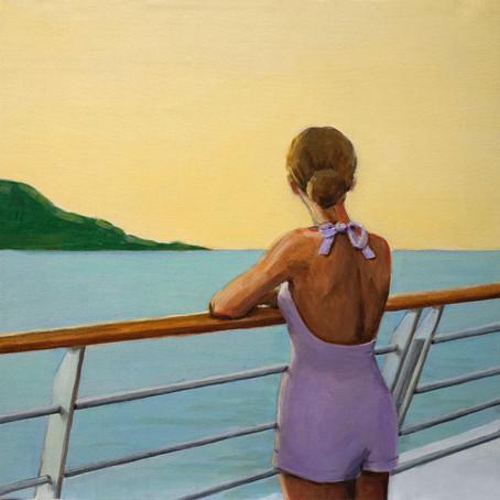 Painter Sarah Morrissette