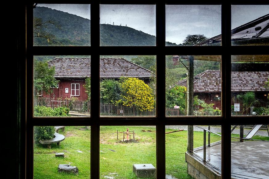 Through the window - Paranapiacaba Villa