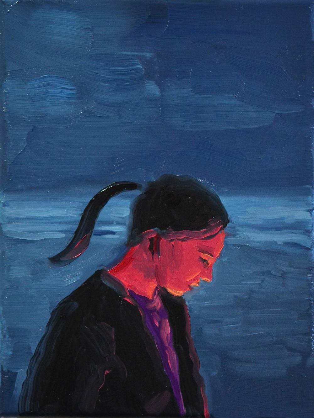 Still Burns Oil on canvas 24 x 18cm 2019