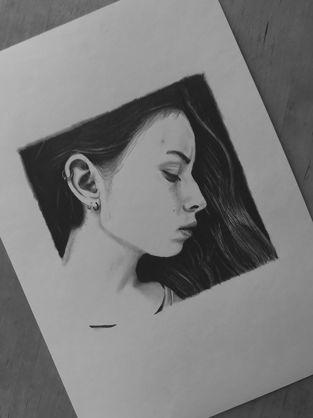'Vacuum' a4 drawing