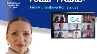 Jana Pluhaříková Pomajzlová As CARe Head Trainer