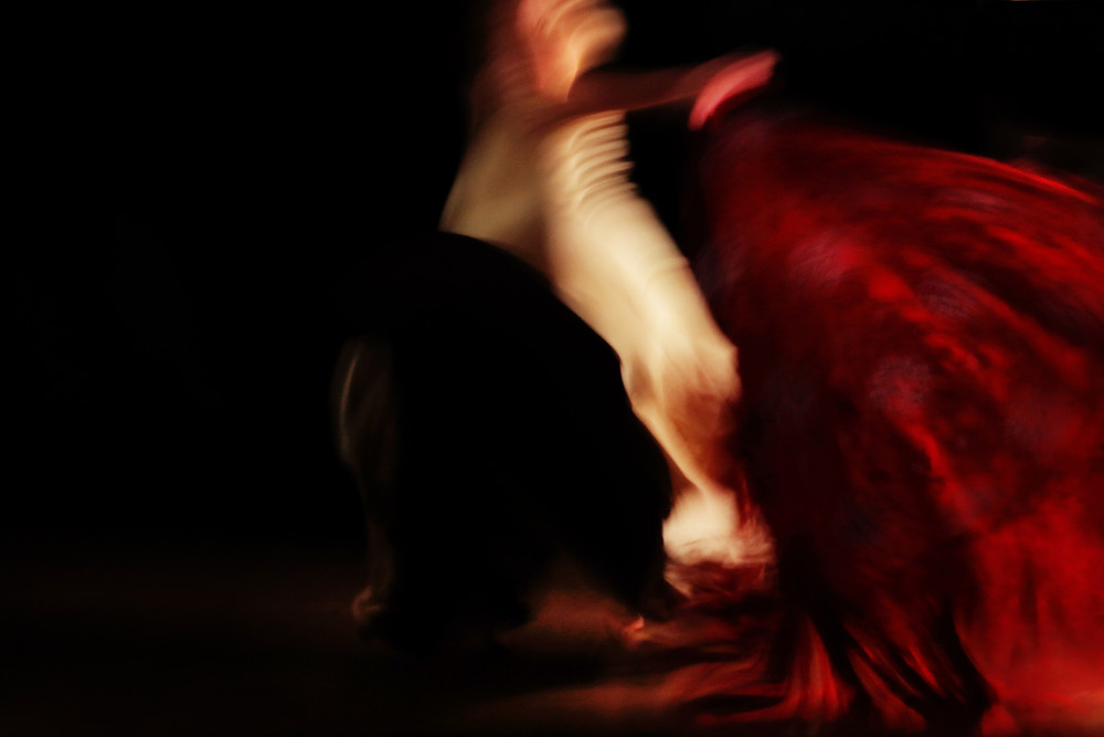 Flamenco - A still from my recently completed documentary film profile of fabulous London based Flamenco dancer Maria Vega, 'Spanish Dancer London Life'. The film is just beginning its screening life this autumn/winter and it is aimed at Arts TV globally. Modern Flamenco gets too little exposure on television.