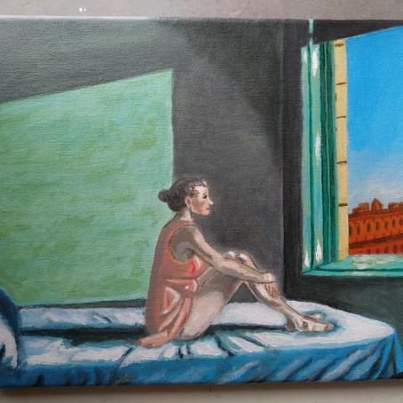 Painter Anthony Caffy