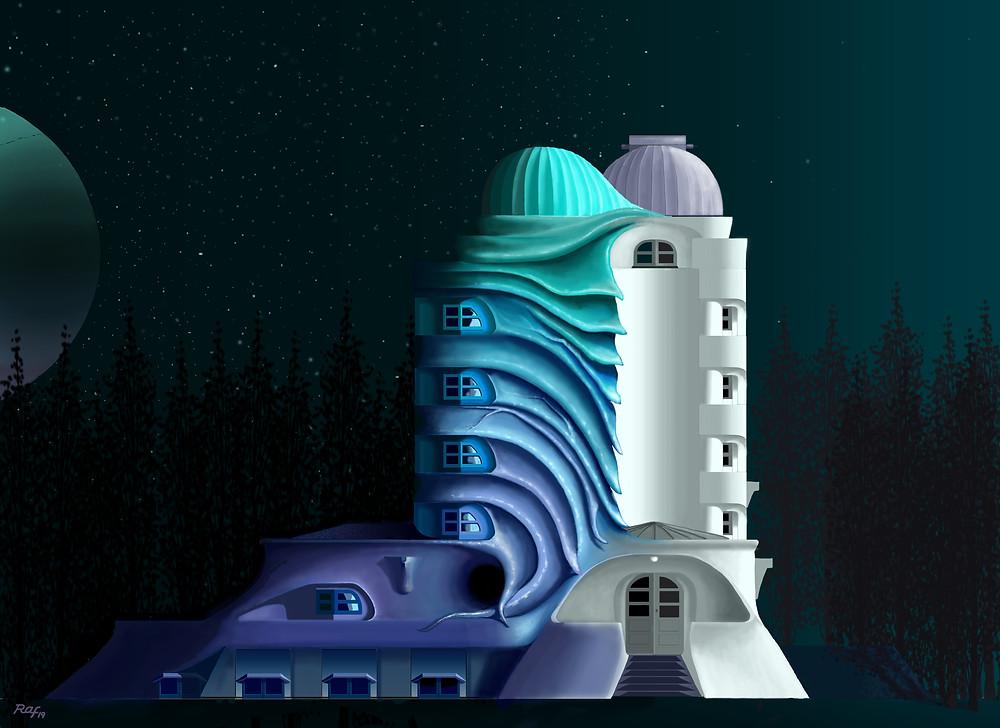 Einstein's tower dream