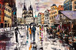 Painter Svetlana Tikhonova