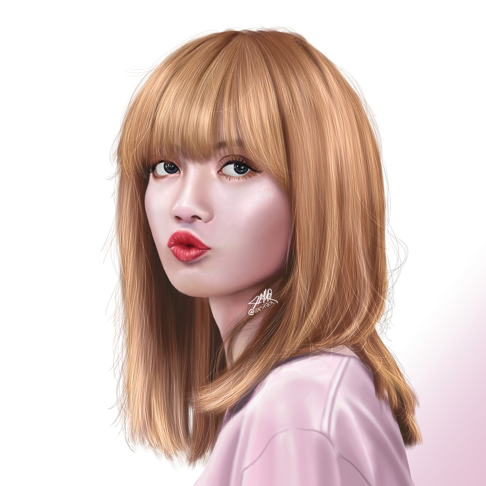 Backlinks Lisa - Here is the youngest member of Blackpink, Lisa! It's my first time playing with skin texture.