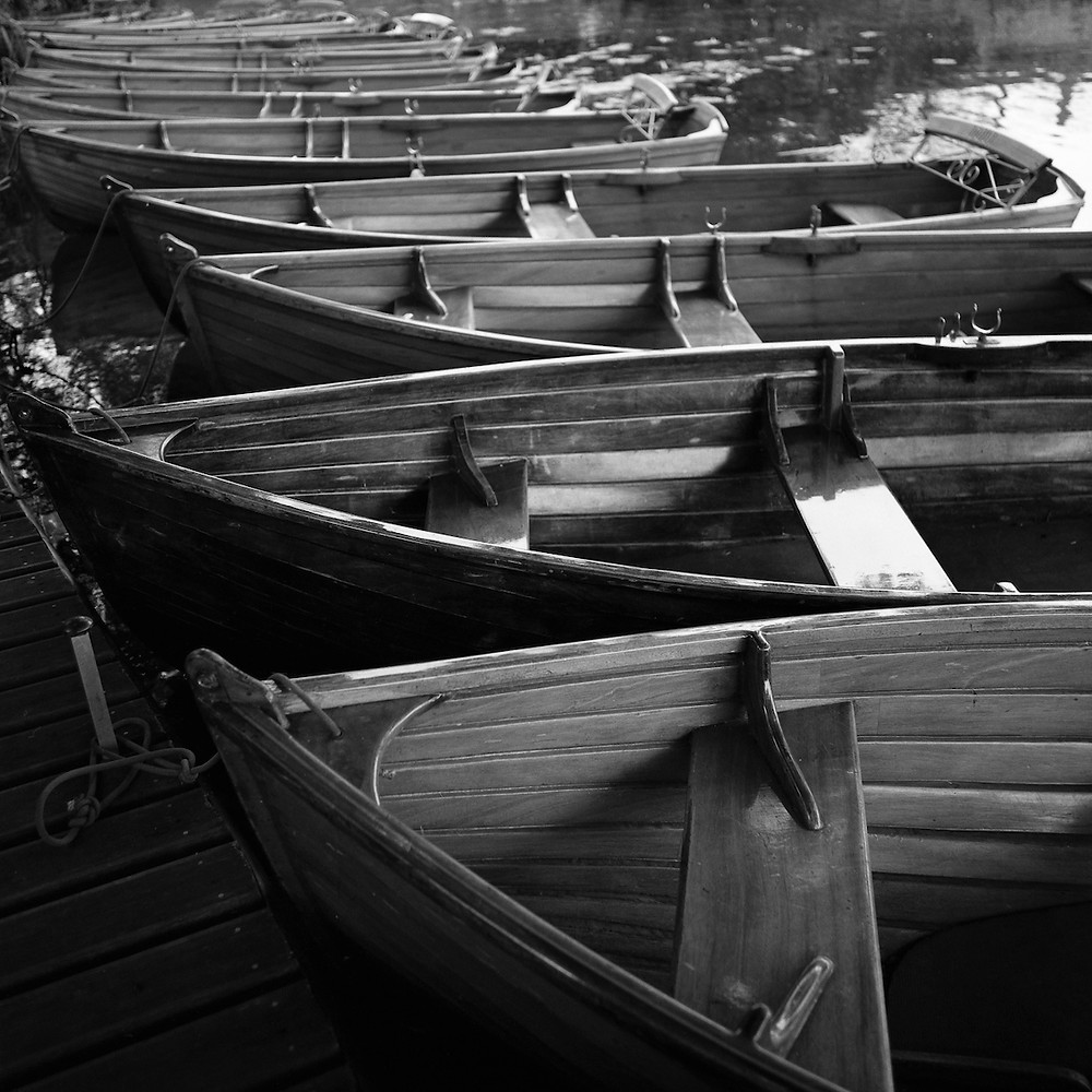 Rowing Boats I, Dedham Vale, Essex Photography by Paul Cooklin