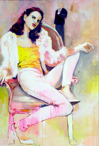 Lounge Lizard_130x90cm_Acryl_Canvas_2016