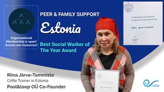 Riina Järve-Tammiste - BEST SOCIAL WORKER OF THE YEAR ESTONIA