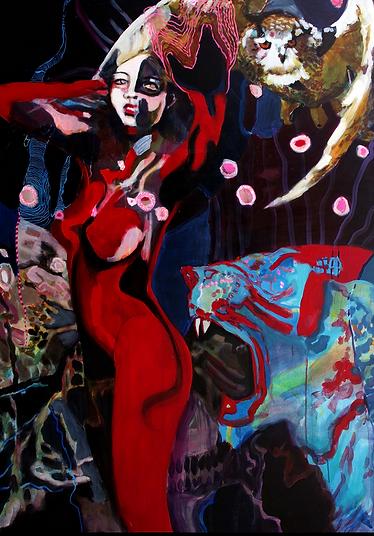 Lilith_160x110cm_Acryl_Canvas_2017 Kopie