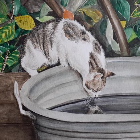Painter Carolina Prieto Moreno