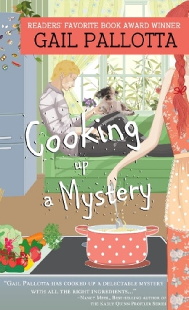 Gail Pallotta Cooking up a mystery