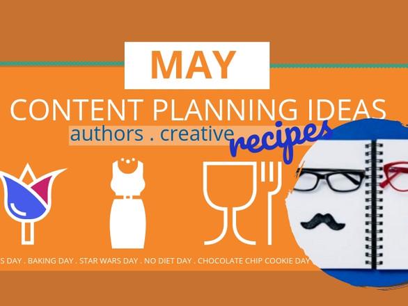 Top Social Media May Content Planning Ideas