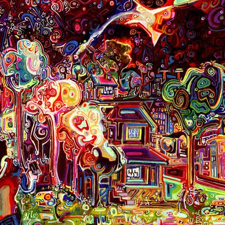Painter Josh Byer